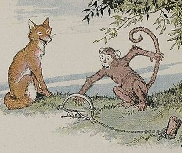 Aesop's Fables - The Fox And The Monkey